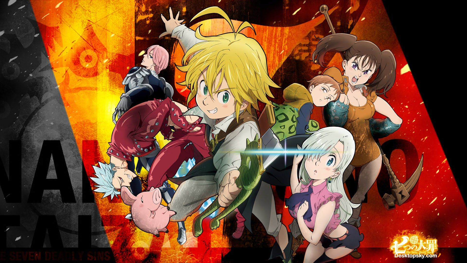 The Seven Deadly Sins Anime Animes To Watch Audio