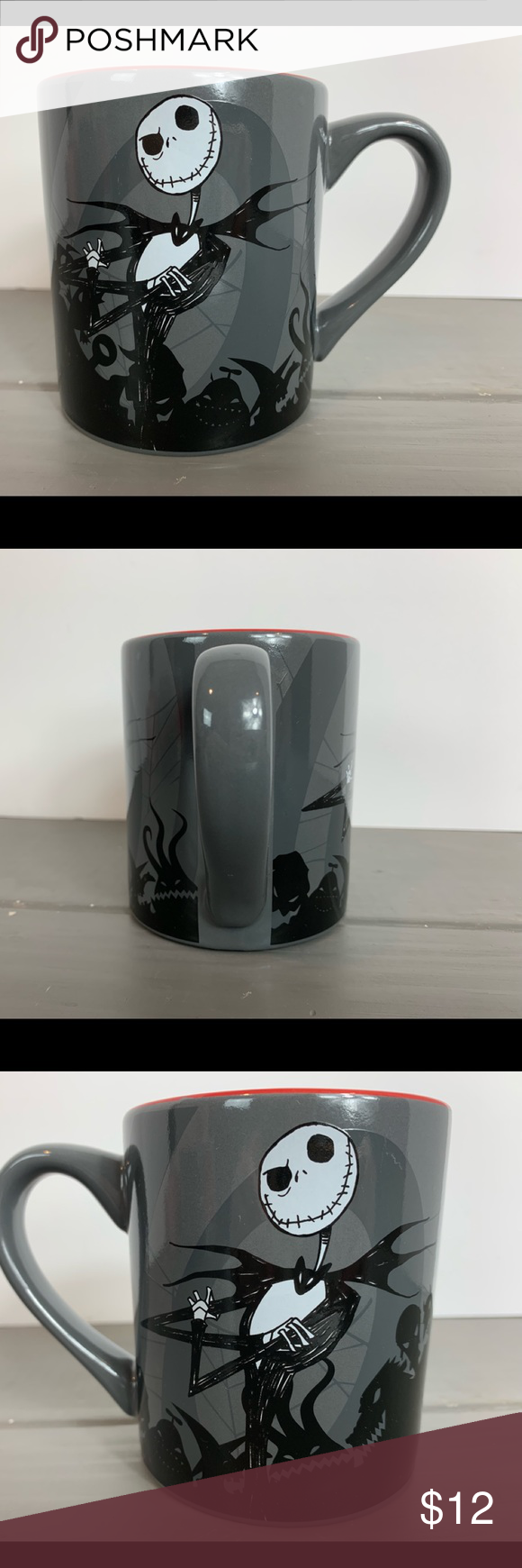 Jack Skellington Coffee Mug NWOT Disney The Nightmare Before Christmas Jack Skellington 14 ounce coffee mug. New without tags, never used. Dishwasher and microwave safe. Smoke free home. Fast shipping!  Tags: jack, sally, skeleton, halloween, Disney, coffee cup, tea cup, mug, cup, fall, seasonal, pumpkin, pumpkin spice silver buffalo Kitchen Coffee & Tea Accessories #disneycoffeemugs