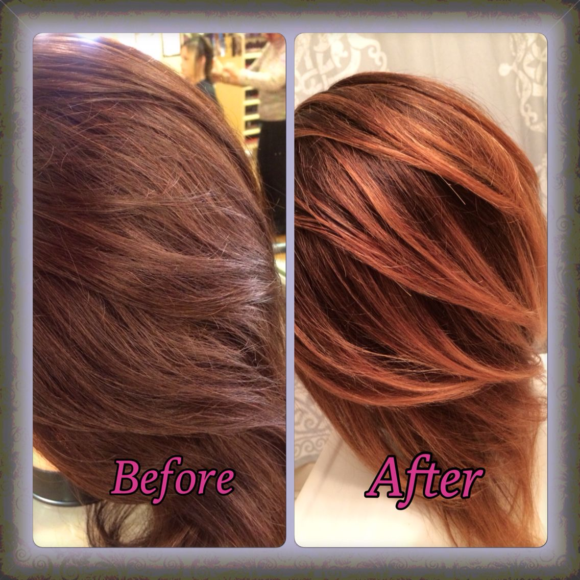 Matrix Color Equal Parts 5m 6vr For Base Blended With Balayage Highlights To Create A Sombre Effect Balayage Highlights Hair Color Formulas Balayage