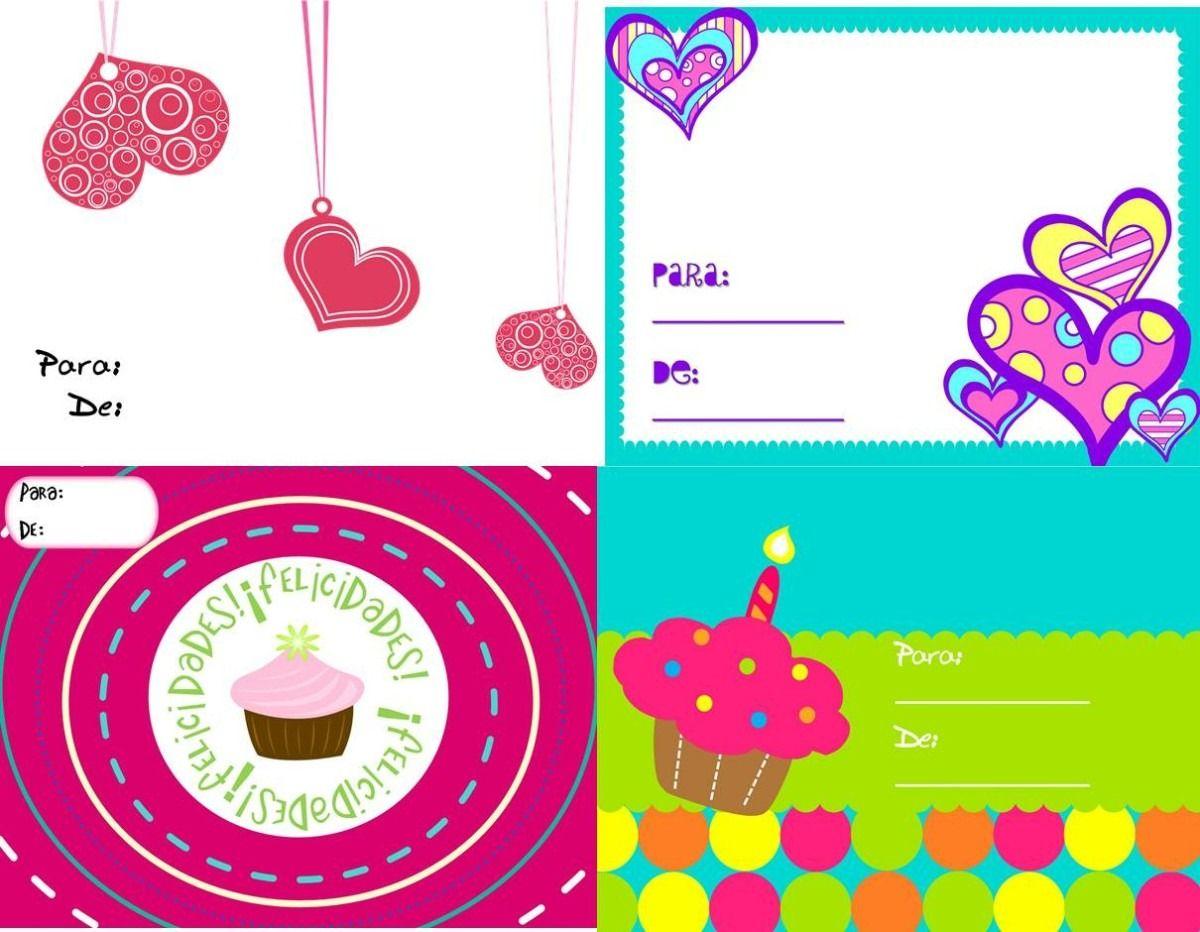 Tarjetas Cumpleaños, Navidad, Nacimiento, Amor Para Regalos BsF  creatividad Pinterest