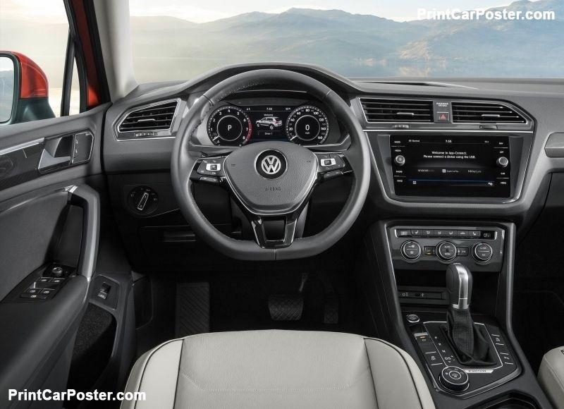 Volkswagen Tiguan Allspace 2018 Poster Id 1298247 Volkswagen Small Luxury Cars Tiguan Vw