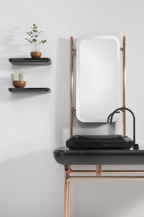 Deco Baños   Banos Con Inspiracion Art Deco De Bisazza Bagno Art Deco