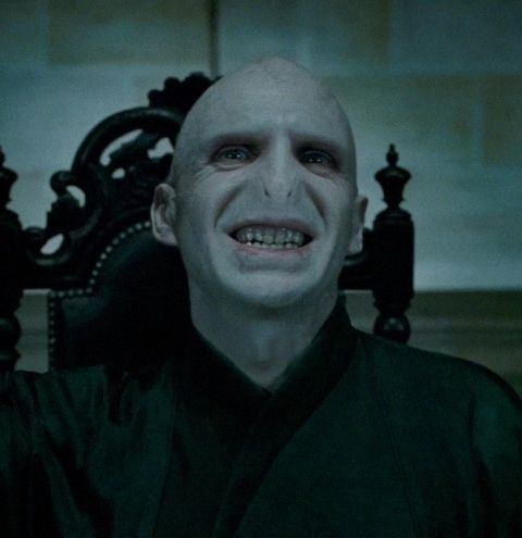Voldemort Smiling