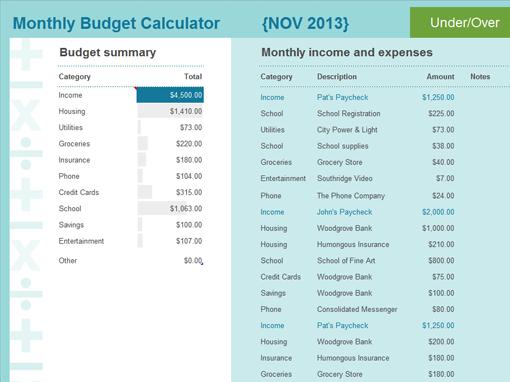 Simple Budget Budget Dollars And Cents Pinterest Budgeting