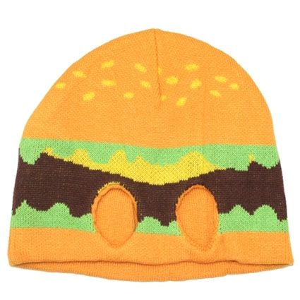 Hamburger Knit Half Mask  6be0154e6c47