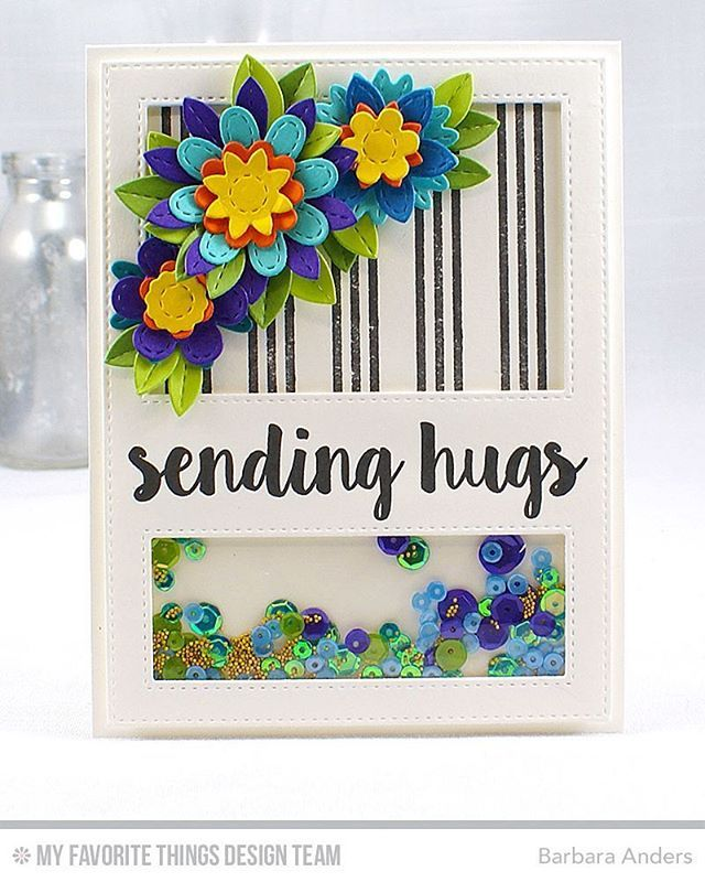 Barbara Smith Anders On Instagram Day Two Reveal Of Mft S August Card Kit Sensational Sched Flowers Available For Purchase Tonight At 10pm Edt