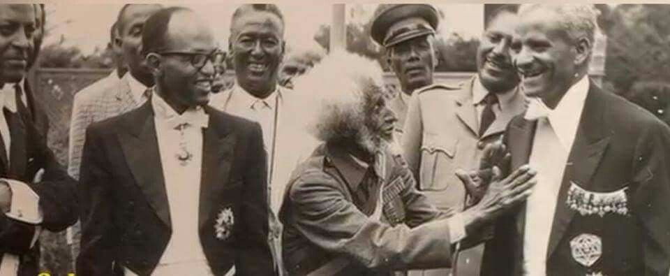 Historical photo Ethiopia's Foreign Minister Ketema Yifru (left), Ethiopian Patriot ( in the middle), Prime Minister … | Ethiopia, Haile selassie, Historical photos