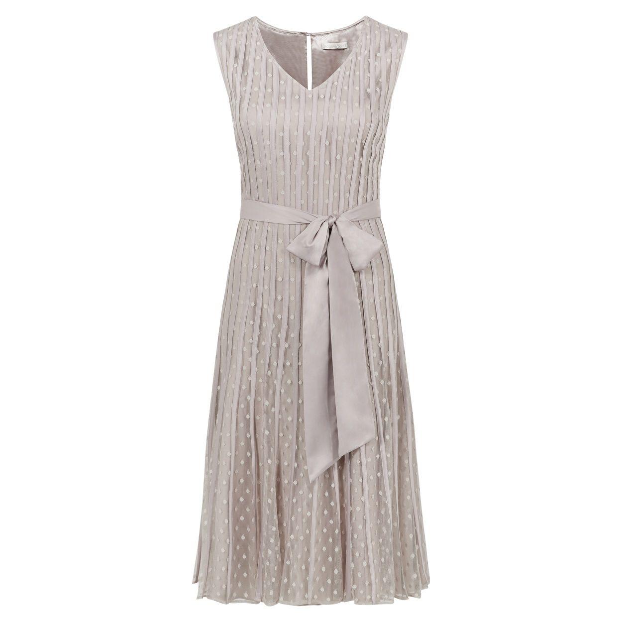 Jacques Vert Banded Spot Flared Dress- at Debenhams.ie | Beach ...