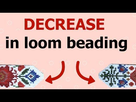 How To Decrease In Loom Beading Bead Loom Step By Step Tutorial Delectable Bead Loom Patterns For Beginners