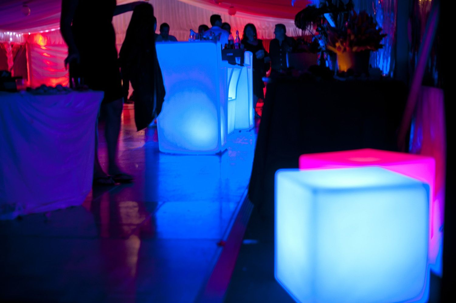 Illuminated Party Seating Party Furniture Party Seating Party Hire