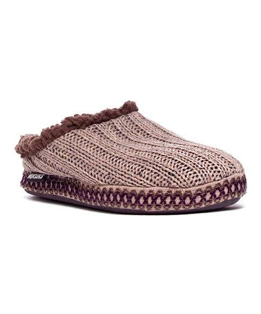 French Chateau Lucia Scuff Slipper - Women by Heritage Collection by MUK LUKS #zulily #zulilyfinds