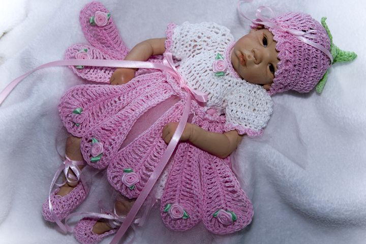 Girls Crochet Dress Patterns Free Crochet Baby Layette Patterns