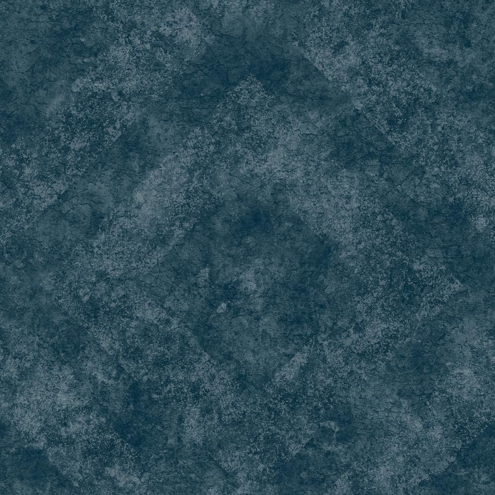 Engblad & Co Classic Royal Navy Geometric Stone Navy Wallpaper Sample 2825-6350SAM - The Home Depot