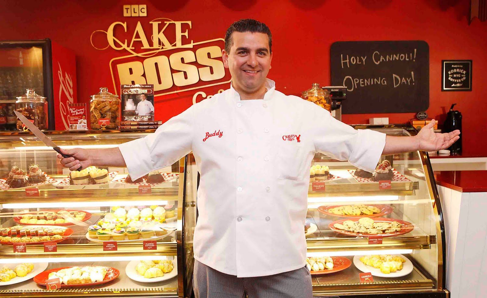 "Buddy Valastro, one of America's top pastry chefs, is opening an Italian-American restaurant at the Palazzo this fall. The handsome star of TLC's top-rated ""Cake Boss"" hails from Puglia, Italy, and will move into the former space of First Food & Bar that was occupied by chef Sammy DeMarco until two months ago."