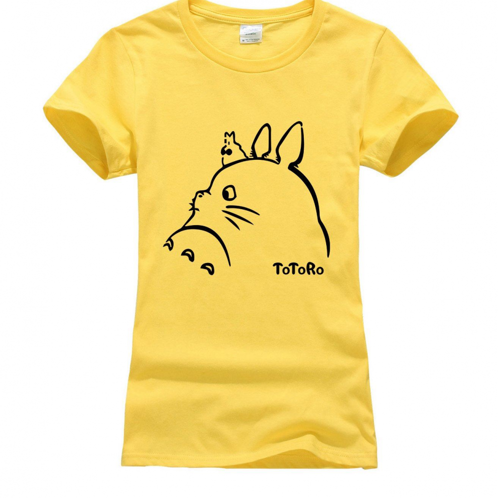 Tonari no Totoro Women T-Shirt | Cartoon t shirts, T ...