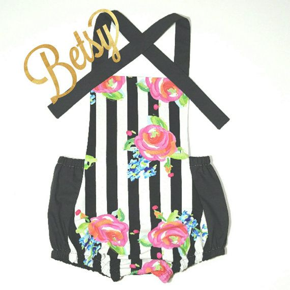 Check out this item in my Etsy shop https://www.etsy.com/listing/285485469/betsy-romper-baby-romper-girl-romper
