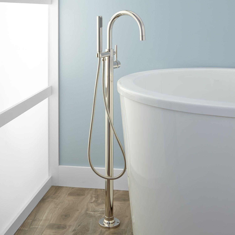 Alvey Freestanding Tub Faucet and Hand Shower - Bathroom | Bathroom ...
