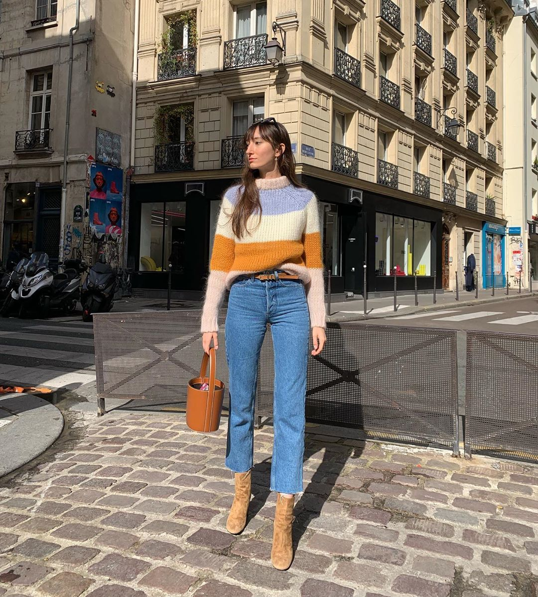A cosy Fall Parisian Outfit #frenchgirlstyle