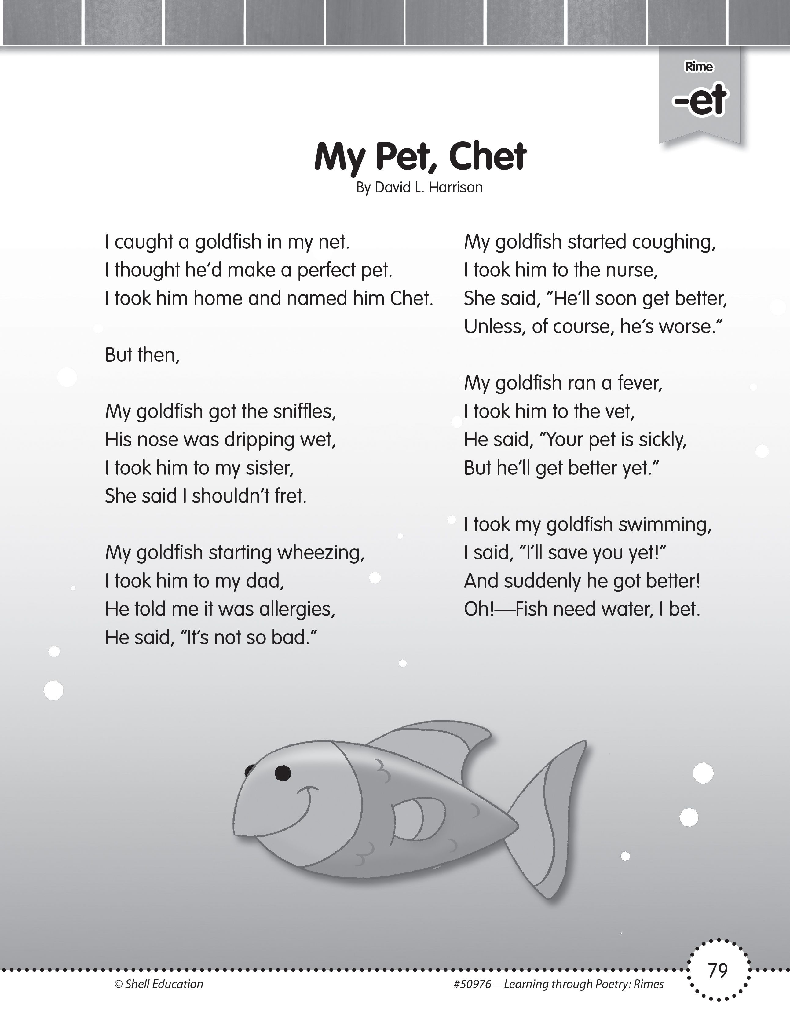 The Strategies Provided In Learning Through Poetry Include