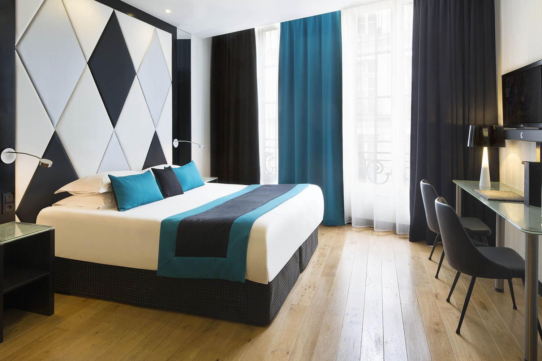 Chambre Bleu Et Taupe | Deco Chambre Couleur Pastel Le Blog Belmon D ...