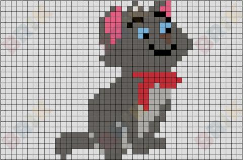 Berlioz Pixel Art Brik Pixel Art Designs Pixel Art Art
