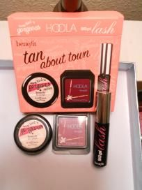 "BENEFIT ""TAN ABOUT TOWN"" SET (FREE SHIPPING) $15"