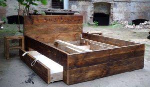 Möbel aus bauholz selber bauen  Bett selber bauen für ein individuelles Schlafzimmer-Design ...