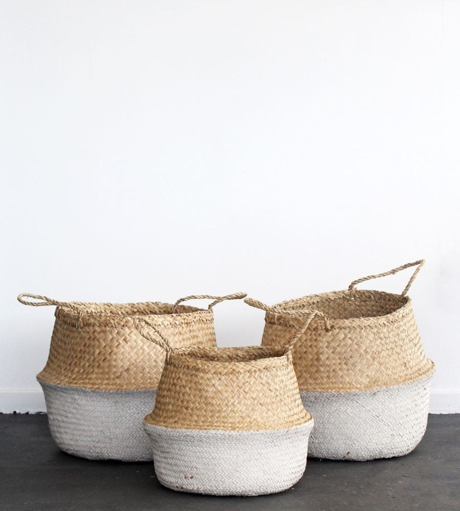 Collapsible baskets.