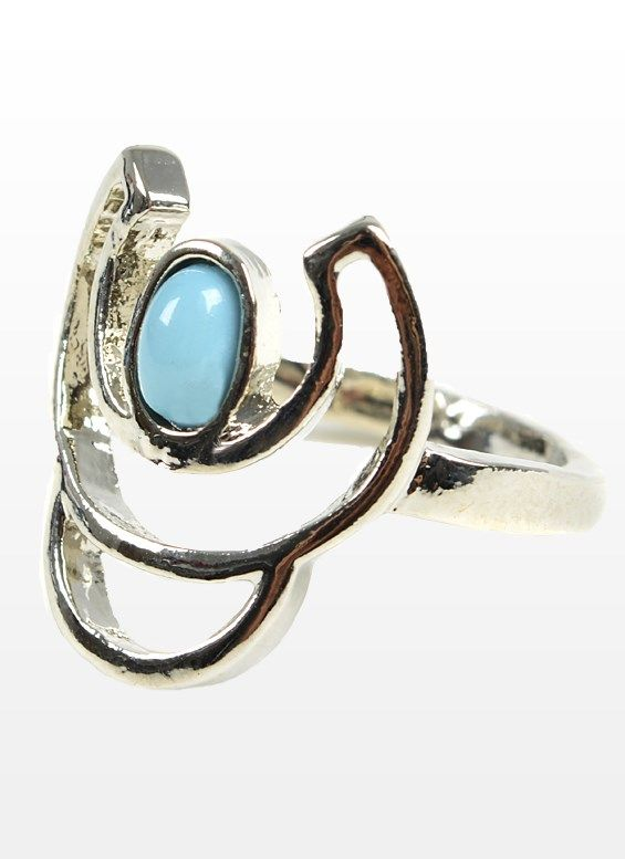 Turquoise ring http://www.shopgarageonline.com/