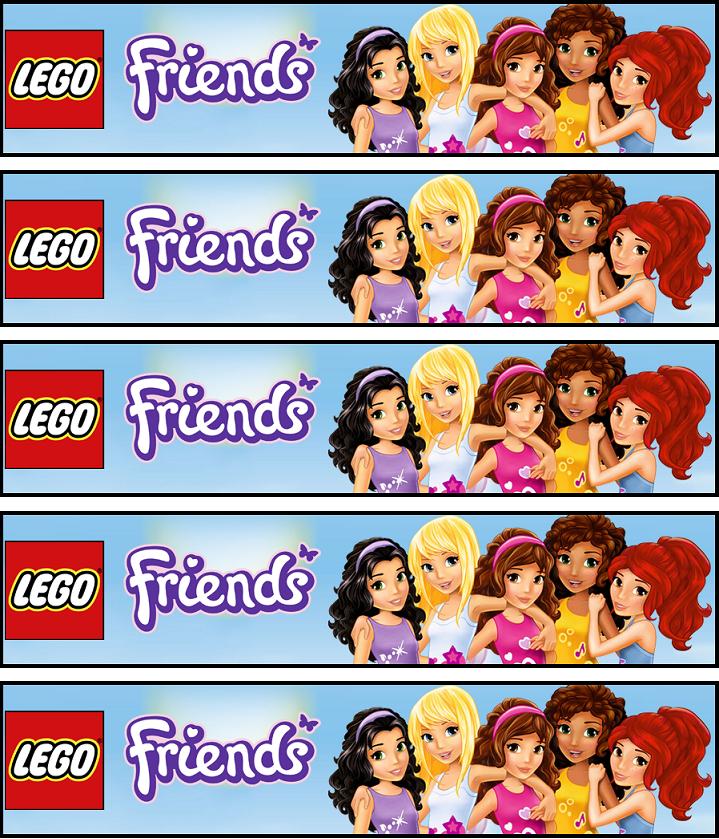 Bookmarks Lego Friends Lego Friends Birthday Lego Friends Birthday Party