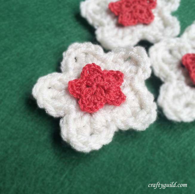 How To Crochet A Five Petal Flower Star Flower Video Or Written