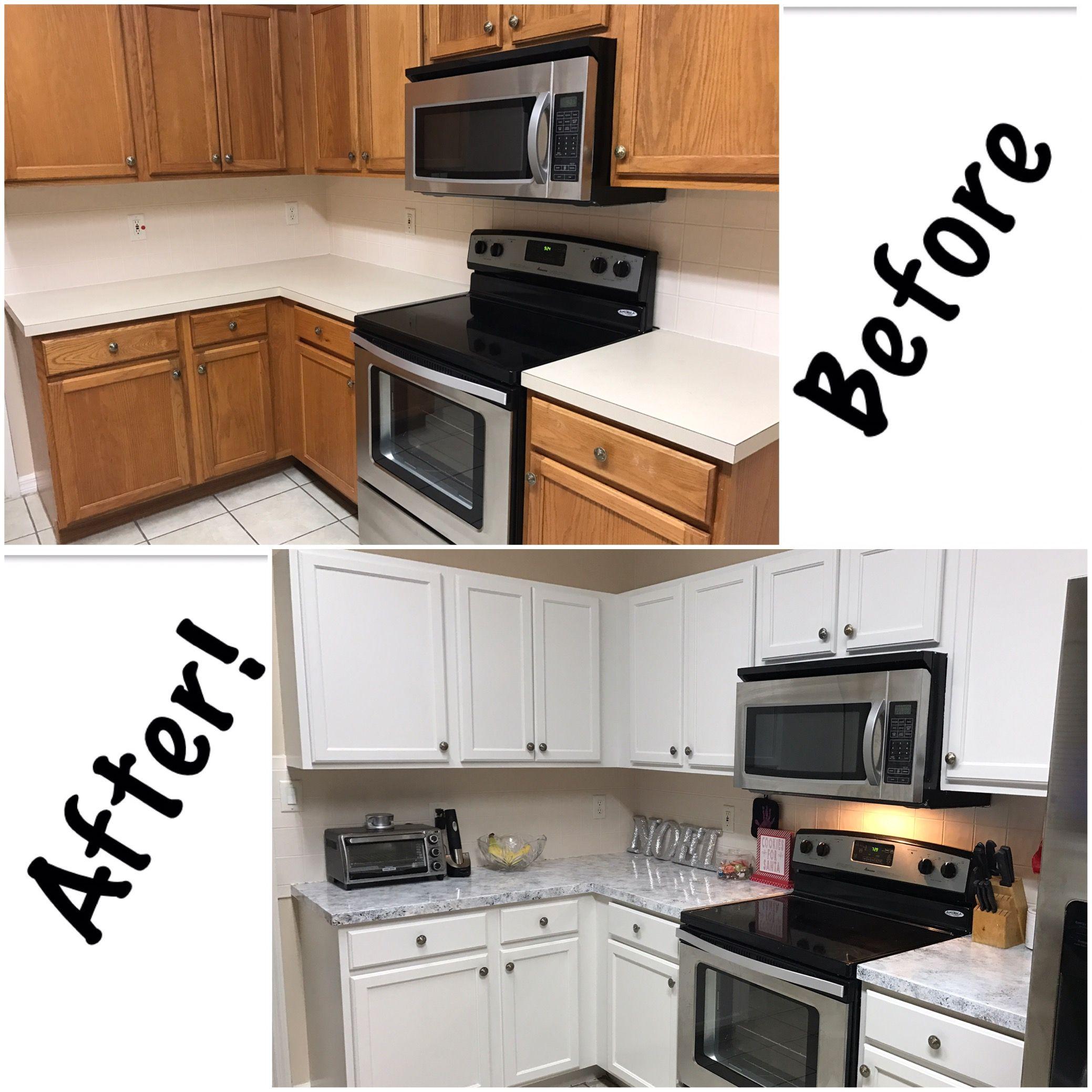 Diy Kitchen Counter Tops Faux Granite Valspar Cabinet Enamel Valspar Cabinet Enamel Room Interior Living Room Interior