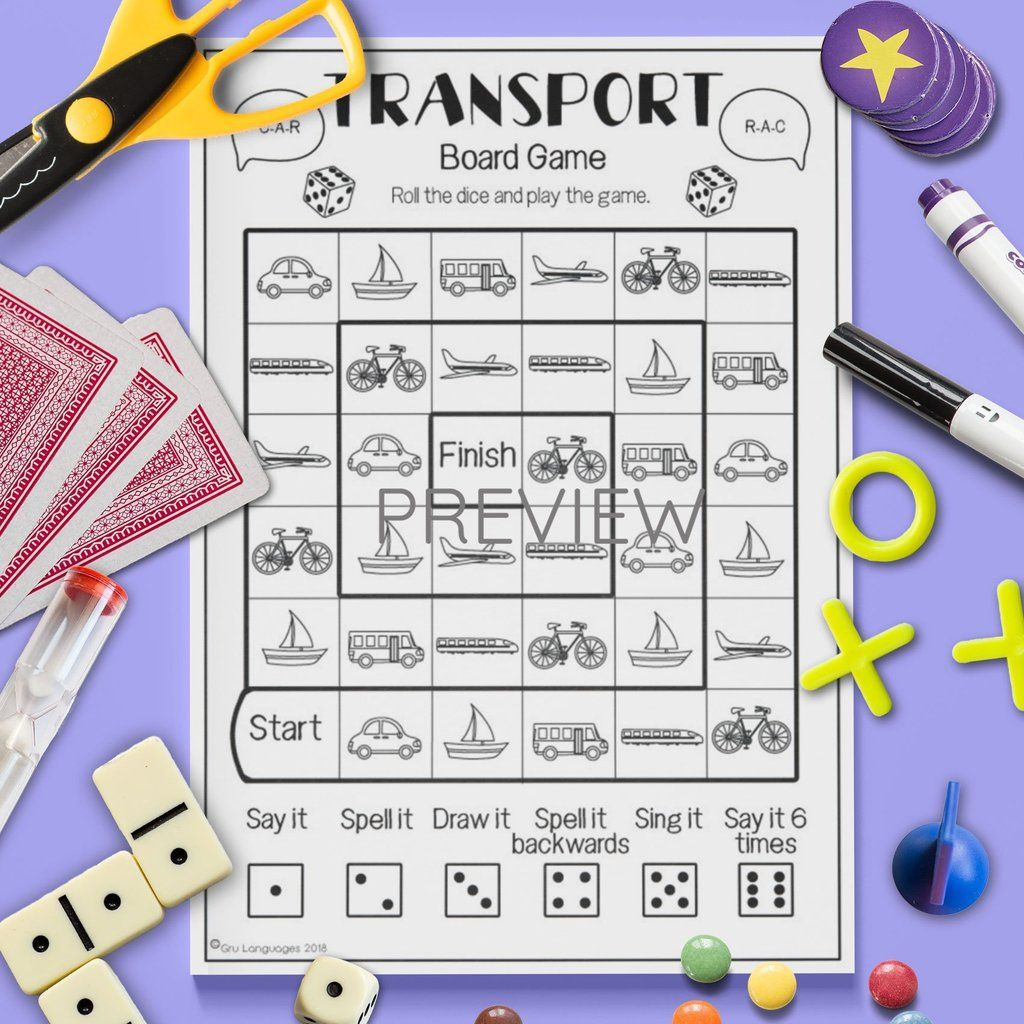Transport Board Game