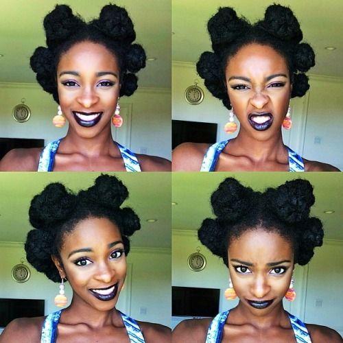 Bantu Knot Coiffure Hairstyle Hair Hair Hair Styles Natural