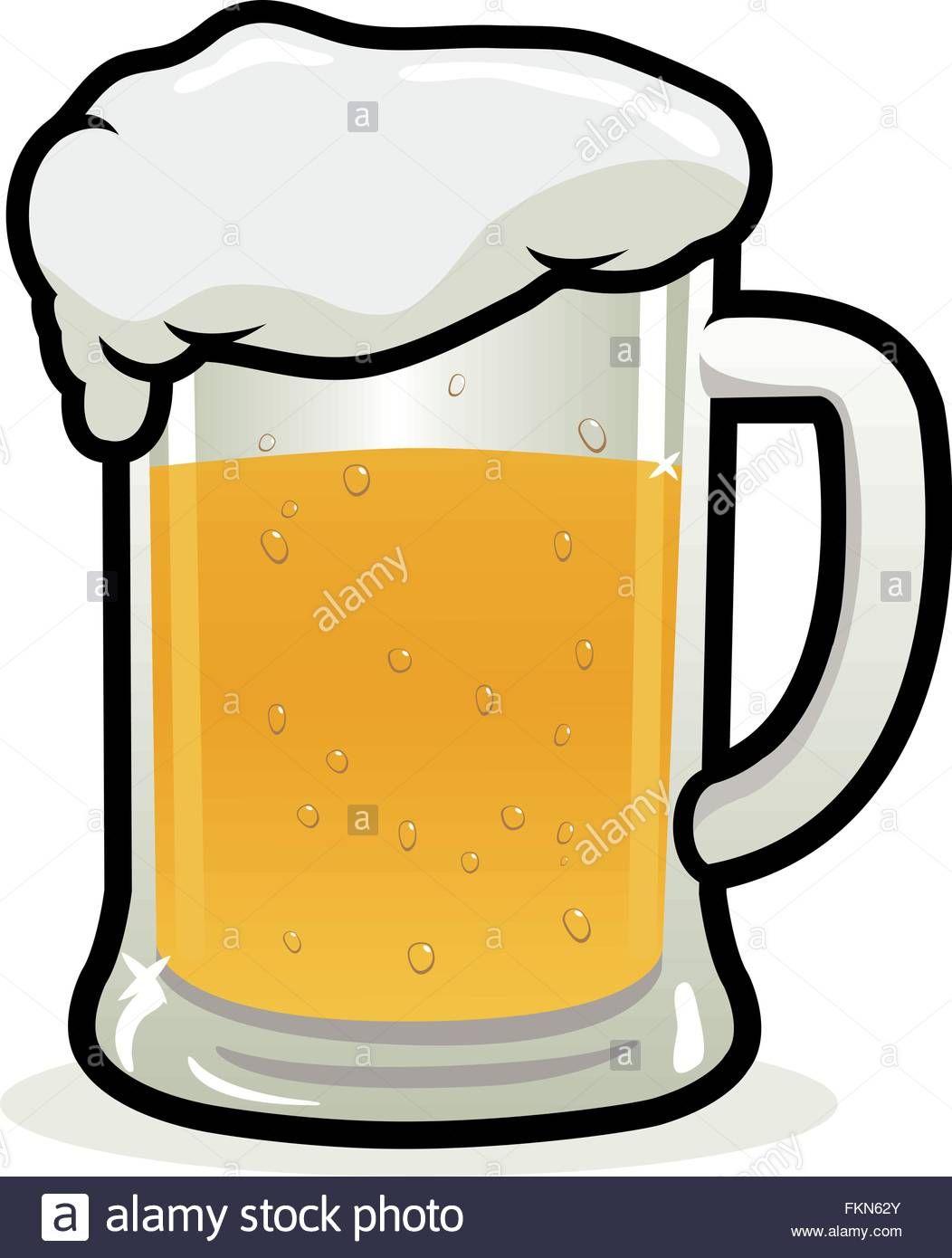 Descargar Este Vector Vaso De Cerveza Ilustracion Vectorial