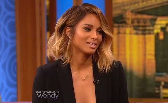 Ciara Visits The Wendy Williams Show 2017 4