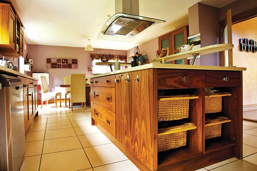 Taking the plunge - Kitchen Island. Check out this kitchen island here http://selfbuild.ie/case-studies/taking-the-plunge/