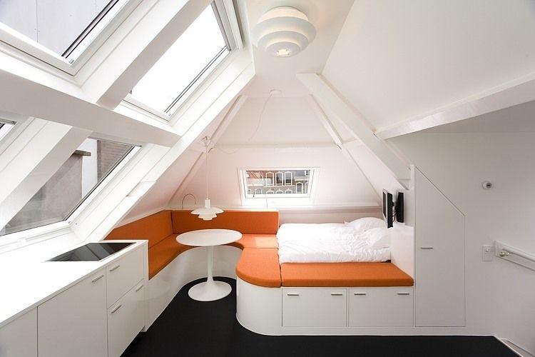 Maff apartment by queeste architecten dachgeschosse einrichten