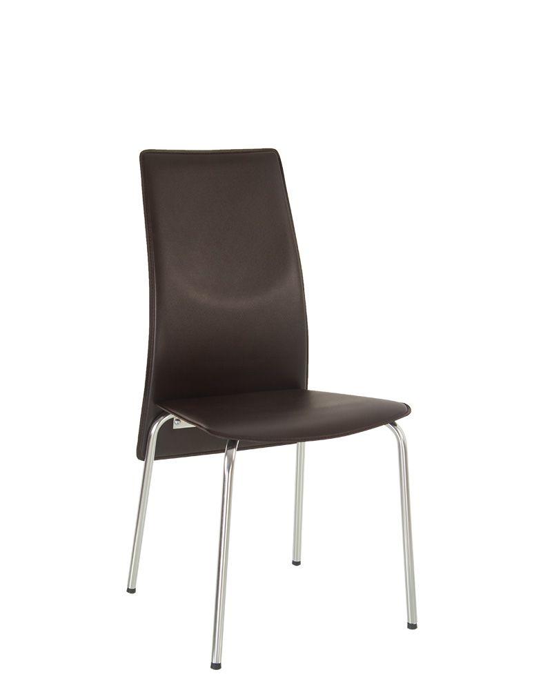 Стул Муза слим хром MUZA slim chrome стулья и кресла пластиковые для кафе бара…
