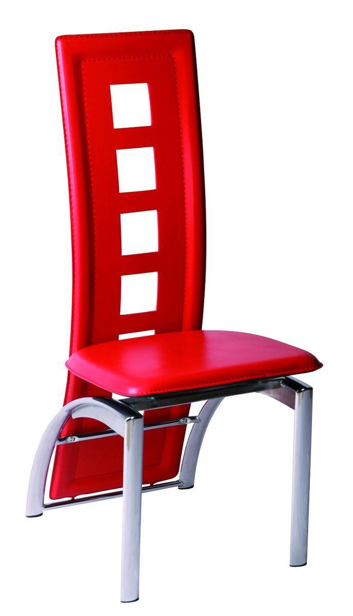 étonnant Chaise Rouge Salle A Manger Décoration Française - Chaise salle a manger accoudoir pour idees de deco de cuisine