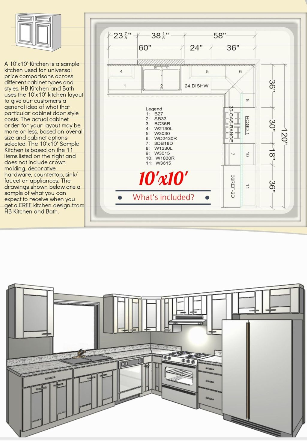 10x10 Kitchen Cabinets: TOUCH This Image: See 10x10 Cabinet Styles By Mike Mao