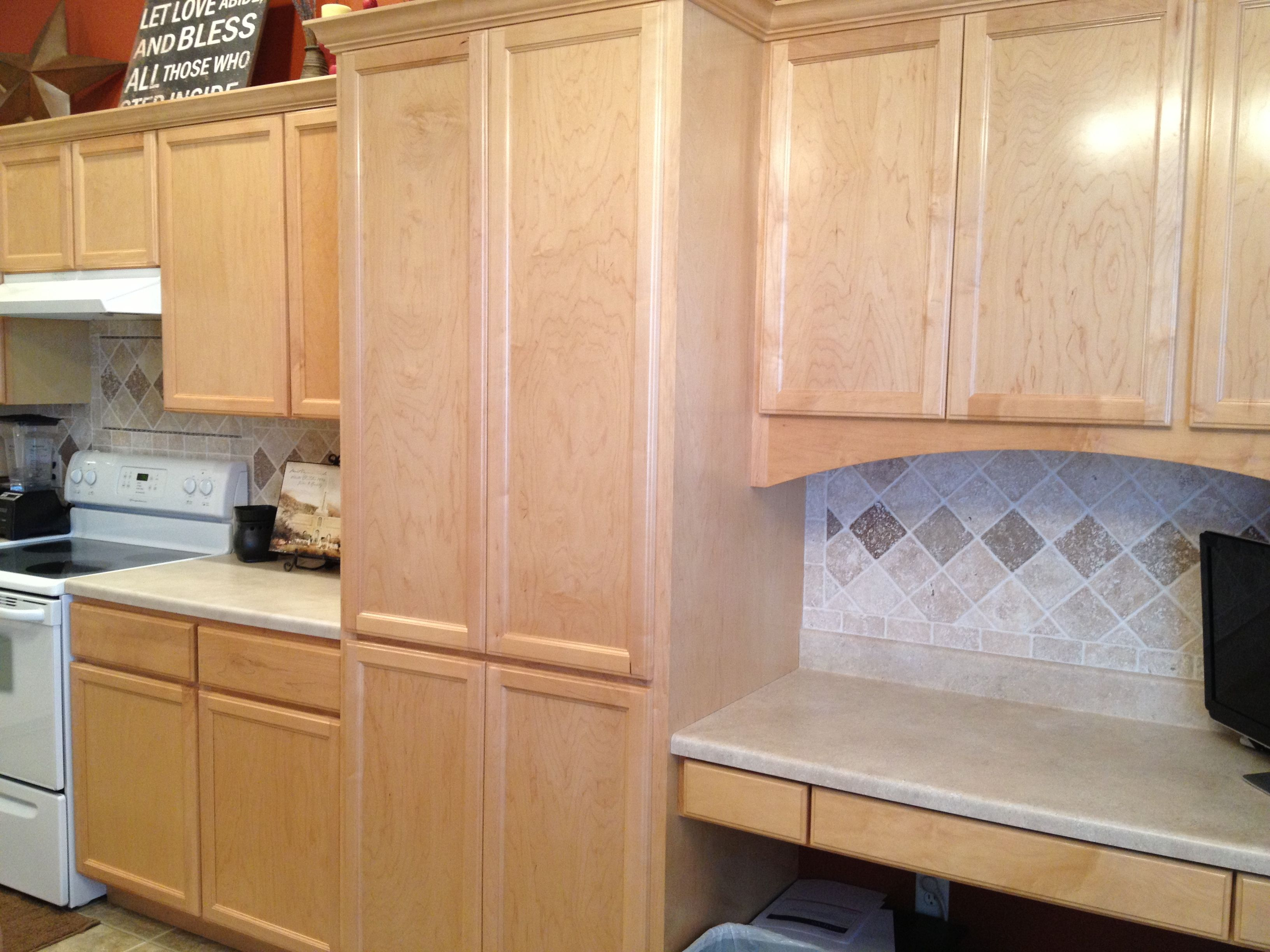 - Custom Travertine Tile Backsplash Travertine Tile Backsplash