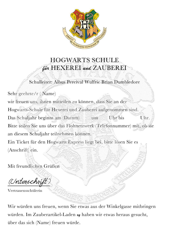 Harry Potter Geburtstag 1 Eulenpost Hard Work Pinterest