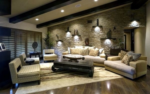 Image Result For Living Room Wall Stone Cladding