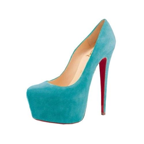 d1cf8bb74b3 ... purchase christian louboutin daffodile 160mm suede pumps turquoise  93ece 6d62a