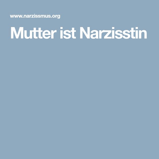 Trennung narzisstin Die Härte