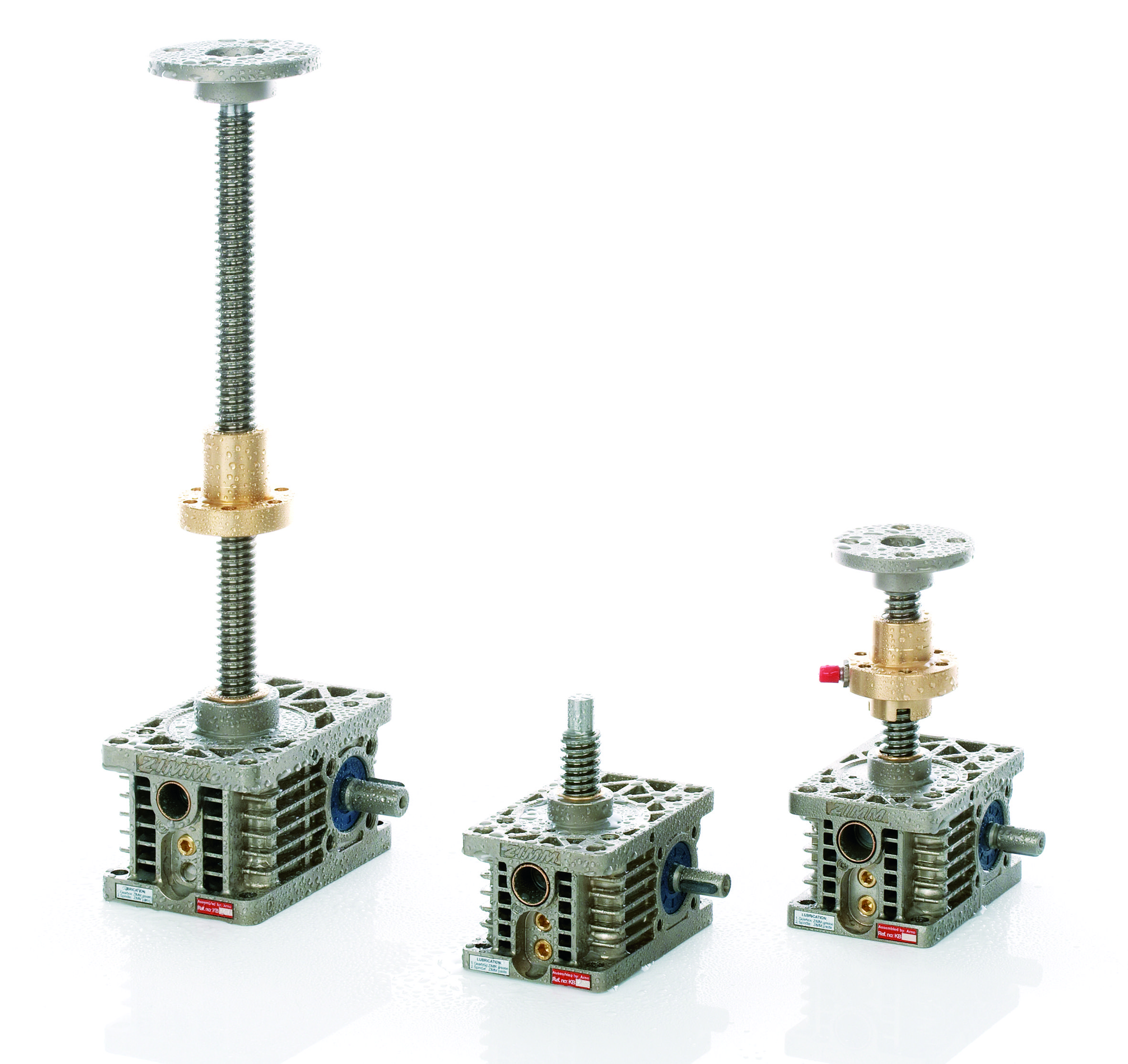 ZIMM Z Series Screw Jack Can be configured to lift, lower