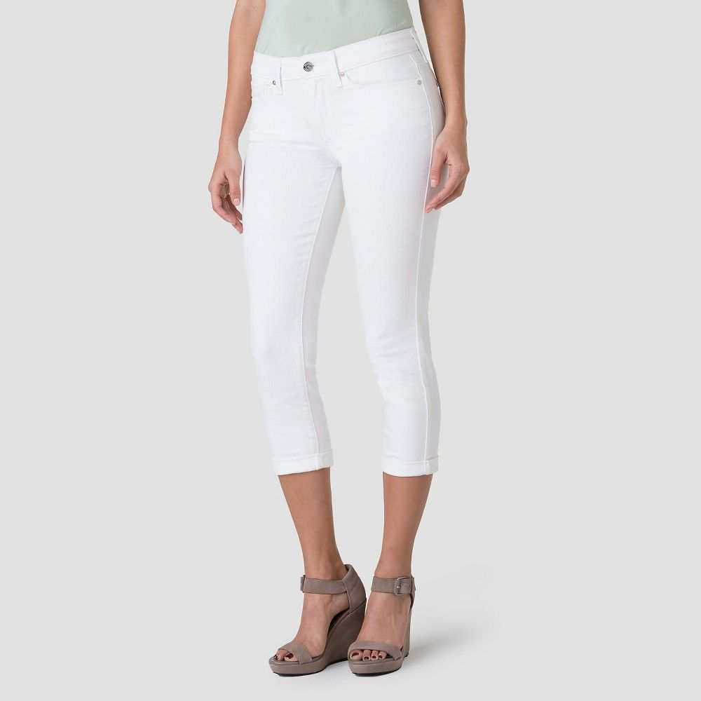 6946a766 Denizen from Levi's Women's Modern Crop Jeans- White - 12 | Products ...