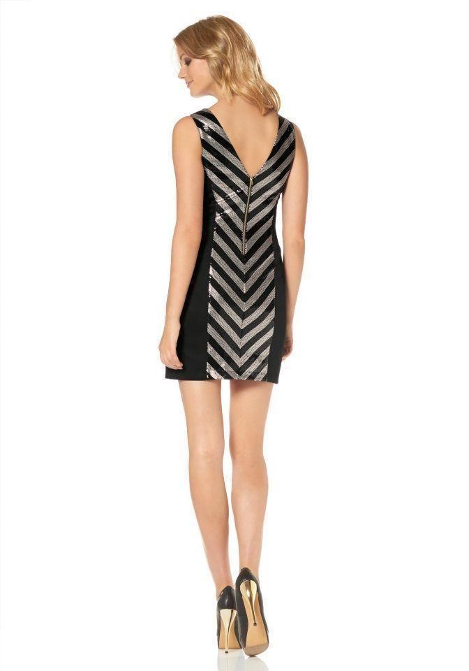 Kleid schwarz gold ebay