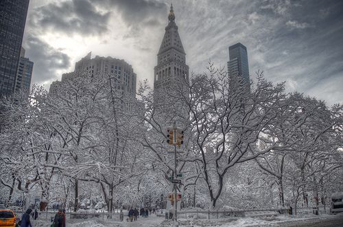 HDR of New York City Snow | Flickr - Photo Sharing!
